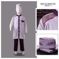 MKA 127 UnguTua (2-13tahun) baju koko anak laki eksklusif