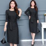 Jual Mm Korea Fashion Style Perempuan Setengah Panjang Model Ukuran Besar Rok Lebih Tebal Gaun Gambar Warna Termurah