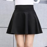 Toko Mm Korea Fashion Style Perempuan Baru Siswa Pinggang Tinggi Pendek Rok Rok Setengah Badan Hitam Baju Wanita Rok Terlengkap Tiongkok