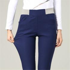Beli Mm Putih Pakaian Luar Lebih Tebal Panjang Celana Tambah Beludru Bottoming Celana Angkatan Laut Celana Panjang Biru Yang Bagus