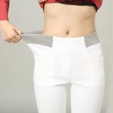 Toko Mm Putih Pakaian Luar Lebih Tebal Panjang Celana Tambah Beludru Bottoming Celana Celana Panjang Putih Baju Wanita Celana Wanita Online Tiongkok