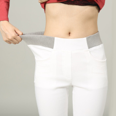 Harga Mm Putih Pakaian Luar Lebih Tebal Panjang Celana Tambah Beludru Bottoming Celana Celana Panjang Putih Baju Wanita Celana Wanita Dan Spesifikasinya
