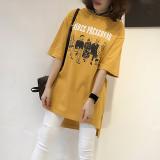 Jual Mm Untuk Meningkatkan Kode Tipis Lengan Pendek Blus T Shirt Hitam Baju Wanita Dress Wanita Gaun Wanita Oem Online