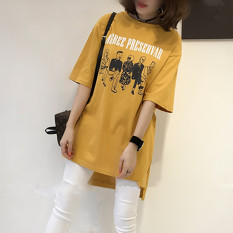 Review Toko Mm Untuk Meningkatkan Kode Tipis Lengan Pendek Blus T Shirt Hitam Baju Wanita Dress Wanita Gaun Wanita