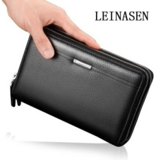 Diskon Mobile Phone Wallet Bag Bag Hand Bag Leather Handbag Zipper Handreynardson Black Intl Tiongkok