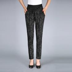 Modal Musim Semi Dan Musim Gugur Baru Legging Elastis Yang Tinggi Kaki Celana No 3 Warna Baju Wanita Celana Wanita Tiongkok Diskon