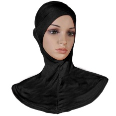 Modal Tunggal Crossover Muslim Jilbab Islam Topi Bagian Dalam Underscarf Sport Topi-Intl