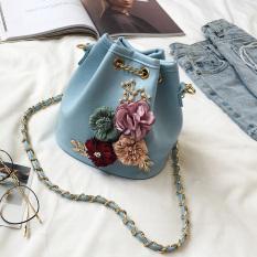 Spesifikasi Mode Bunga Ember Tas Biru Dan Harganya