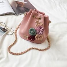 Jual Mode Bunga Ember Tas Merah Muda Online Tiongkok