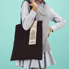 Spesifikasi Mode Patch Kartu Asrama Kanvas Tas Hitam Kartu Asrama Zip Dan Harganya