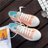 Toko Model Crocs Serat Musim Panas Baru Sepatu Kets Putih Merah Muda Warna Sepatu Wanita Sepatu Sport Sepatu Sneakers Wanita Termurah