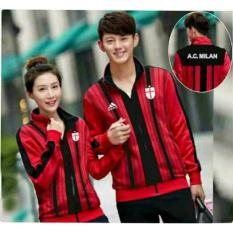 kyoko fashion jaket couple stripe-(blacak)IDR155000. Rp 159.900