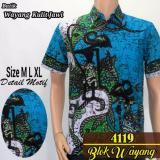 Toko Model Kemeja Batik Pria Kemeja Batik Lengan Pendek Kemeja Batik Pekalongan Kemeja Batik Pakaian Pria Pandawa Hijau Muda Tosca Azka Batik