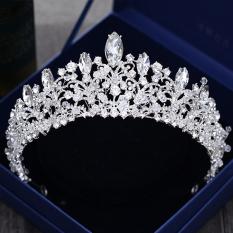Toko Mahkota Aksesoris Rambut Pengantin Wanita Warna Silver Dekat Sini