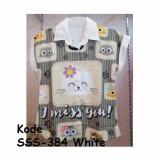 Toko Model Sss 384 White Kemeja Cewek Bangkok Printed Tangan Pendek Terlengkap Di Dki Jakarta