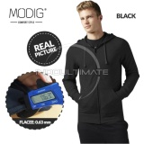 Jual Modig Jaket Polos Basic Fleece Jaket Hoodie Pria Wanita Jacket Zipper Korea Jk 01 Black Branded Murah