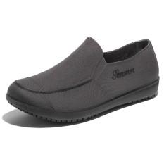 Modis Pria Sepatu Bot Hujan Dewasa Sepatu Bot Hujan (Abu-abu)