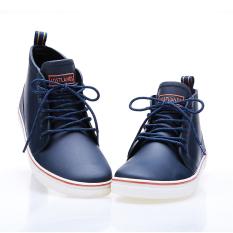Beli Modis Tahan Air Tergelincir Renda Sepatu Karet Sepatu Boots Hujan Biru Sepatu Pria Sepatu Safety Sepatu Boots Pria Online Terpercaya