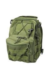 Spesifikasi Molle Taktis Sling Chest Bag Assault Pack Shoulder Bag Hijau Tentara Yang Bagus Dan Murah