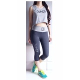 Spesifikasi Mom Zumba A Tank Set Atasan All Size Legging Xl Grey Murah Berkualitas