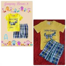 Mom Jumping Beans Yellow 8 for Boy (Baju + Celana)