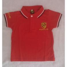 Mom Polo Shirt Porsche Red