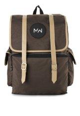 Harga Monday2Weekend M2W Bp005 Waterproof Backpack Brown Yg Bagus