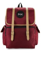 Diskon Produk Monday2Weekend M2W Bp005 Waterproof Backpack Maroon