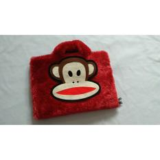 Monkey Paul Frank Bulu Lebat Rasfur 11-12 Inchi Softcase Tas Laptop Netbook Macbook Boneka kera Luc