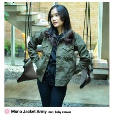 Mono Jacket Army