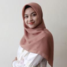 Montaza Eksklusif Hijab Segiempat Polly Cotton Kerudung Bella Jilbab .