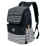 Toko Jual Tas Ransel Laptop Canvas Backpack Sekolah Pria Wanita Rmn 04