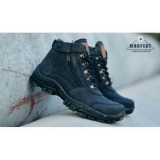 +moofeats+ sepatu PRIA boot SAFETY moofeats ELASTICO ORIGINAL
