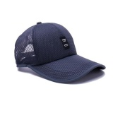 Jual Moonar Outdoor Berjemur Bisbol Hat Fashion Warna Warni Golf Mesh Bernapas Cap Navy Biru Grosir