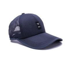 Toko Moonar Outdoor Berjemur Bisbol Hat Fashion Warna Warni Golf Mesh Bernapas Cap Navy Biru Online Di Indonesia