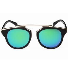 Spesifikasi Moonar Fashion Vintage Perlindungan Sinar Uv Warna Film Reflektif Kacamata Hitam 1 Moonar