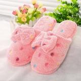 Spesifikasi Moonar Wanita Nyaman Ikatan Simpul Kapas Sandal Kamar Tidur Rumah Sepatu Sandal Pink Ukuran 36 37 Intl Moonar