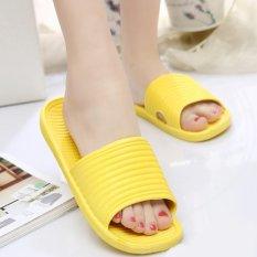 Berapa Harga Moonar Wanita Flat Rumah Bath Sandal Musim Hot Sandal Non Slip Sepatu Kuning Moonar Di Tiongkok