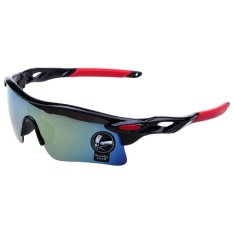 Moreno Outdoor Sport Sunglasses for Man and Woman Kacamata Sepeda Kacamata Olahraga - Hitam merah