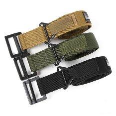 Moreno Sabuk Ikat Pinggang Blackhawk Tactical Belt Gesper Airsoft - Hitam