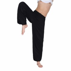 Beli Morning Tai Chi Yoga Celana Olahraga Pof Ukuran L 3Xl Orangutan Baru Lepas Berlatih Pants Black