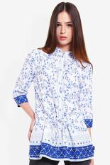 Morphidae  Women Clothing Tops Blouses & Shirts  Wanita Busana Atasan Blus & Kemeja White putih Diskon discount murah bazaar baju celana fashion brand branded
