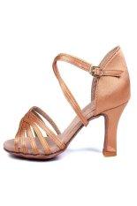 Paling Populer Latin Wanita Tari Sepatu Beige Original