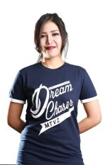 Review Motivized Kaos T Shirt Dream Chaser Tee Navy Jawa Barat