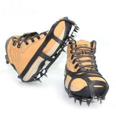 Jual Cepat Pendakian Gunung Ski Crampon 18 Gigi Kolam Antislip Es Salju Sepatu Paku M