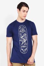 Moutley Men Tshirt Blue 312121612 Diskon discount murah bazaar baju celana fashion brand branded