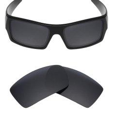 MRY POLARIZED Penggantian Lensa untuk Gascan Sunglasses Stealth Hitam-Intl