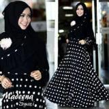 Beli Ms 9013 Pakaian Muslim Gamis Syari Maxi Dress Polkadot