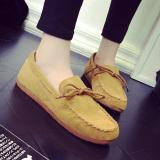 Jual Ms Kacang Polong Sepatu Kasual Loafers Sepatu Fashion Kuning Online Di Tiongkok