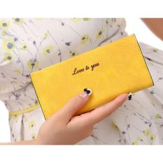 Jual Ms Wallet Dompet Panjang Wanita Yellow Original